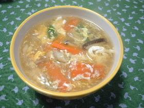 親子スープ