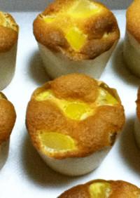 【油脂不使用】栗のカップケーキ