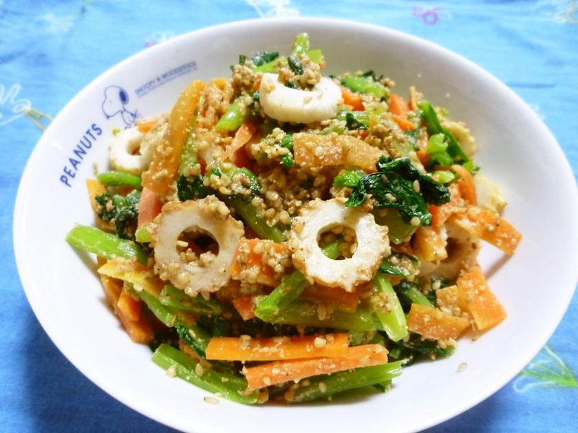 簡単わが家の✿小松菜ごまたっぷり和え✿