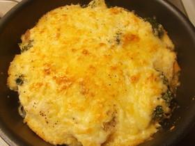 【ダイエット】豆腐とおからでグラタン♪