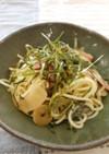 山菜和風スパゲティ