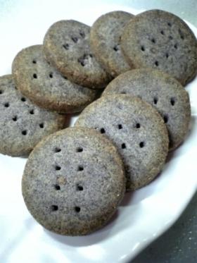 黒米のクッキー