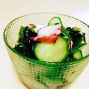 簡単!たこときゅうりの酢の物の写真