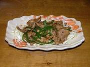 ウチの生姜焼きの写真