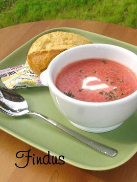 ビーツのクリームスープ