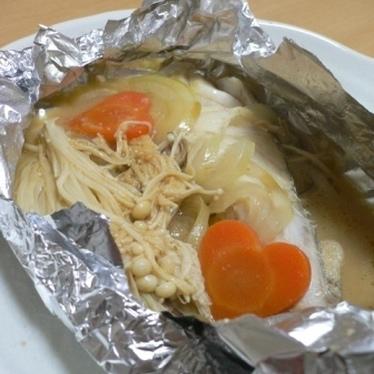 鱈のホイル焼き