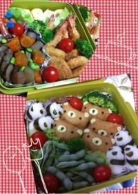 ✿2013小学校運動会のお弁当✿