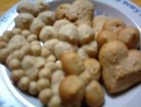 クッキーメーカーでホロホロクッキー