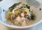 青梗菜とツナのサラダ