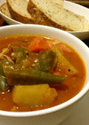 食べるスープ:チキンガンボ
