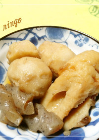 シンプル♡ちくわと里芋の煮物♡