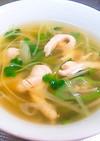 身体ポカポカ 鶏肉と生姜の薬膳スープ