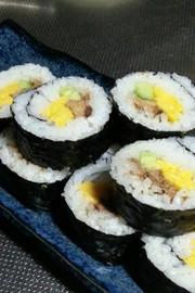 サバ缶で海苔巻き☆の写真