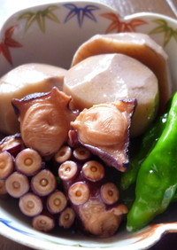 タコと里芋のほっこり煮(*^▽^*)