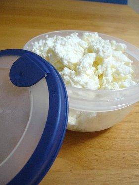 簡単手作り♪カッテージチーズ
