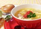 プチトマトとたまごのスープ