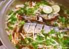 生姜たっぷり♪秋刀魚の土鍋炊き込みご飯