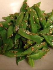 【常備菜】簡単モロッコインゲンの胡麻和えの写真