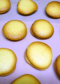 全卵ラングドシャ風チョコサンドクッキー