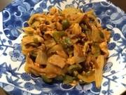 お弁当に♪鶏肉とピーマンのケチャップ炒めの写真