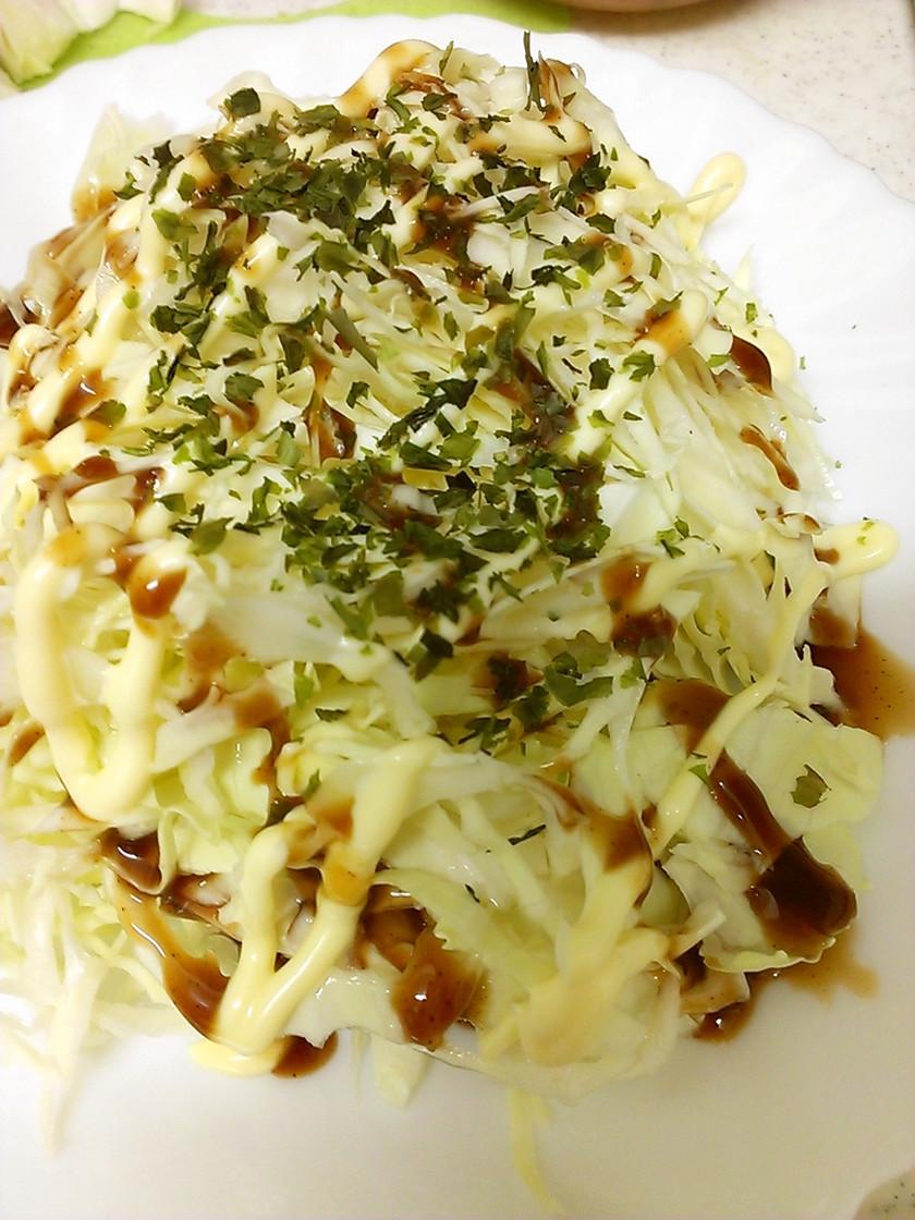 キャベツのお好み焼き風サラダ