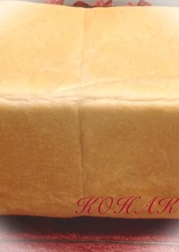 フランスパン用粉で角食パン♪( ´▽`)