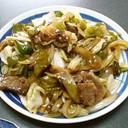ホイコーロー風、肉野菜炒め