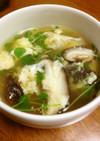 簡単 豆苗の卵スープ