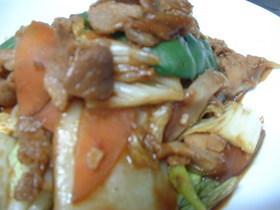 白菜で回鍋肉