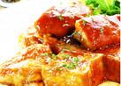■厚揚げ&鶏もも肉のマヨ照り焼き■