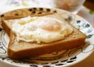 朝食に☆目玉焼きパン