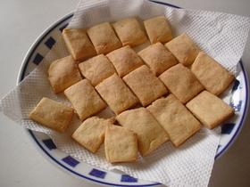 ダイエットで話題のおからと豆乳のクッキー