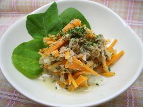 有機野菜のにんじんサラダ