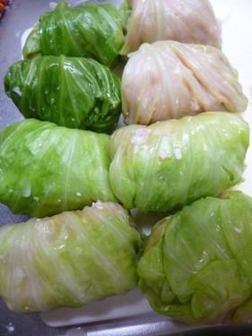 豆腐入りのロールキャベツ(ダイエット)