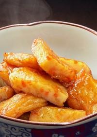 お弁当★野菜天(さつま揚げ)の甘辛煮