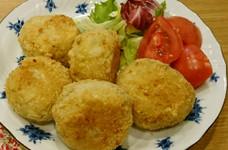 南瓜のコロッケ(チーズ&ベーコン)