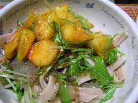 カキの中華サラダ