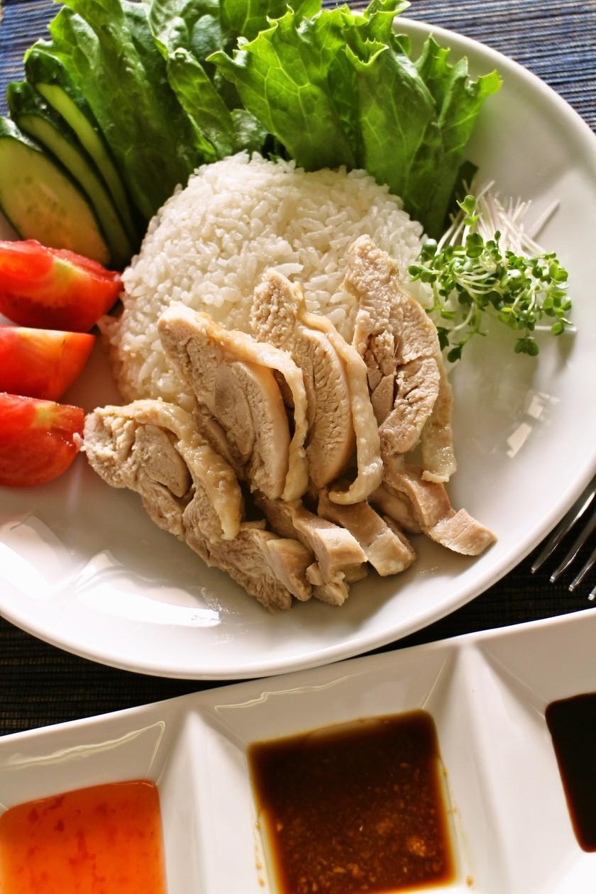 準備10分!シンガポールの海南鶏飯