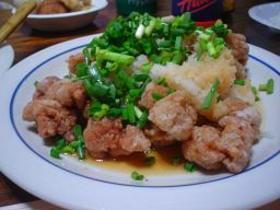 鶏肉の唐揚げ おろしぽん酢たっぷりがけ