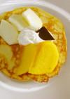 めっけもん♪米粉パンケーキ&フルーツ