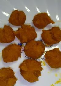 離乳食:簡単シンプル☆かぼちゃ茶巾