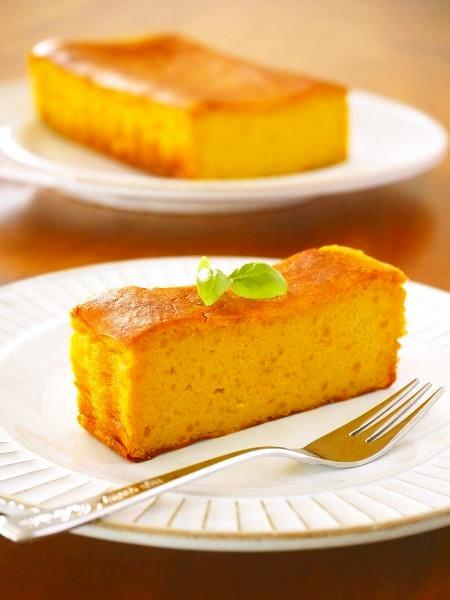 かぼちゃのチーズケーキ♪ハロウィンレシピ