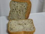 HBもっちり米粉(小麦入)食パン*ゴマ入の写真