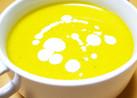ハロウィンの食卓に♪豆乳かぼちゃスープ