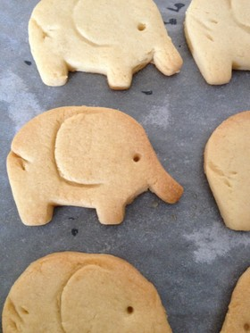 カルピスソフトでクッキー