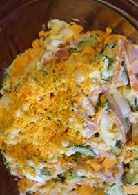 卵たっぷりポテトサラダ