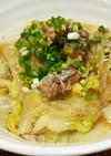 サバ缶と白菜の簡単うま煮
