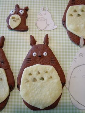 みんな大好きトトロのクッキー