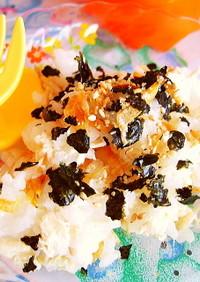 幼児食・離乳食♪桜えびと海苔の混ぜごはん