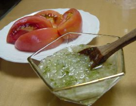 レモン+ハーブ+トマト=爽やか~♪
